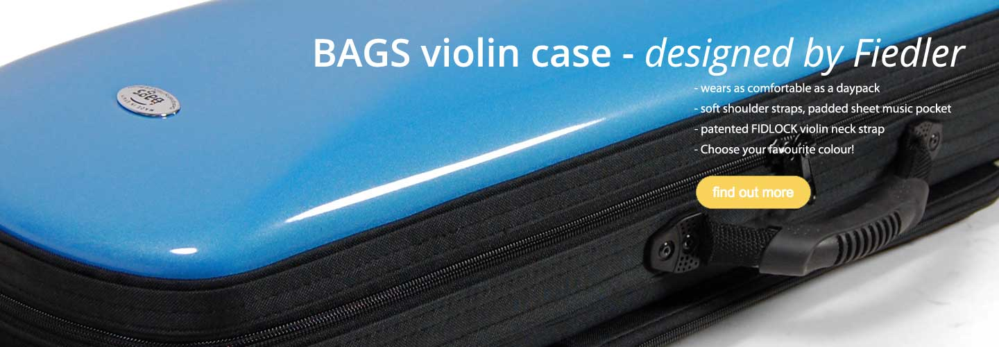 Violin case by BAGS